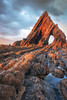 Black Church Rock (Rich Walker75) Tags: devon beach seascape landscape landscapes landscapephotography landmark rock arch arches seastack stack coast coastline outdoor coastal sky cloud clouds canon eos eos80d efs1585mmisusm