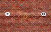 Friesland: Engelum church wall (Henk Binnendijk) Tags: engelum friesland kerk church nederland netherlands holland dutch churchyard graveyard cemetery ingelum waadhoeke wall numbers 9 10 fryslân