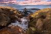 Hvítserkur - Islande (Alexis Vaupres) Tags: nord islande peninsule vatnsnes baie hvitserkur cotes rivière idyllic falaise rochers marée tranquilité eau arche ciel