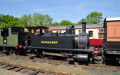 Normandy at Horsted Keynes (davids pix) Tags: 96 30096 b4 dock tank lswr preserved steam locomotive bluebell railway horsted keynes 2018 18052018