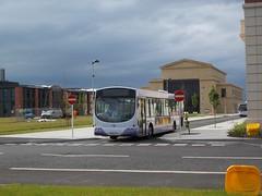 69240 - MX56AFV - Swansea University, Bay Campus - 1 June 2016 (Simon's Bus Photostream) Tags: 69240 mx56afv swansea firstbus firstcymru