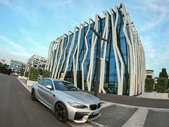 BMW M2 (MS // Automotive Photography) Tags: heilbronn bmw m2 m3 m4 m gmbh n55 car avery silver matte metallic recaro pole position architektur architecture wrap