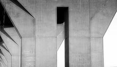 The bridge (Duevel) Tags: bridge bw blackwhite concrete beton sky shadows grey white black architecture