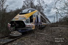 Abandoned Transport (Photography by Linda Lu) Tags: lostplace lostplacesfrance lostplaces train traingraveyard eurostar decay urbanexploring urbex urban discarded forgotten vergessen abandoned