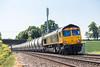 66750 at Tibberton (6M35) 23.05.2018 (Wolfie2man) Tags: 6m35 pcatanks tankers hansonscement tibberton 66750 class66 gbrf