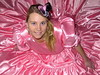 Pink paradise (Paula Satijn) Tags: beautiful gorgeous girl lady young awesome elegant magnificent classy satin silk shiny dress gown ballgown pink feminine girly hot sweet adorable cute smile lovely blonde hat skirt fun joy