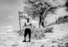 Banna Woman (Rod Waddington) Tags: africa african afrique afrika äthiopien ethiopia ethiopian ethnic etiopia ethnicity ethiopie etiopian omo omovalley outdoor omoriver banna tribe traditional tribal woman sign blackandwhite monochrome mono trees landscape culture cultural
