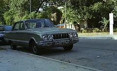 1970 - Ford Falcon Deluxe. (Juansette) Tags: ford falcon deluxe 1970 buenos aires argentina street calle día verde original 35mm film nikon f100 kodak ultra max 400