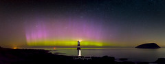 The Light Show (Gareth Mon Jones) Tags: anglesey northernlights aurora penmon northwales