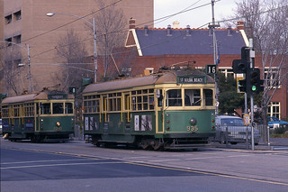 Melbourne trams - June 1999