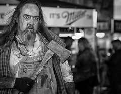 Keep Louisville Weird.. (Southern Darlin') Tags: photography photo zombie people bw blackandwhite canon derby kentucky louisville streetphotography street