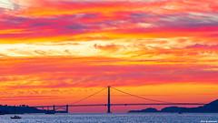 San Francisco Sunset Colors (davidyuweb) Tags: san francisco sunset colors sanfrancisco treasure island burning sky luckysnapshot 金門大橋 三藩市 jupiter