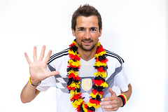 German fan looking forward to the fifth World Cup title (marcoverch) Tags: fusball trohpy fusballwm titelverteidigung souvenir moskau schwarzrotgold weltmeisterschafft germany titel weltmeister football russland2018 wm2018 deutschland germanfan lookingforwardto fifthworldcuptitle man mann isolated isoliert people menschen young jung fun spas desktop funny komisch person portrait porträt adult erwachsene one ein finelooking gutaussehend joy freude business geschäft success erfolg casual beiläufig smile lächeln woman frau looking schauend candid bench pose 7dwf day downtown wasser coth5 naturephotography