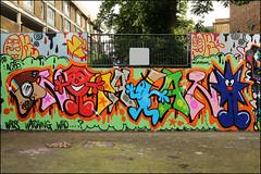 Grand (Alex Ellison) Tags: stockwell halloffame southlondon oker gsd urban graffiti graff boobs
