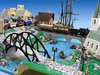 Brickerei: Victorian City Details (1) (Dornbi) Tags: lego brickerei england city church harbor victorian