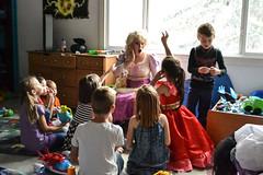 Rapunzel Visits the Birthday Party (Vegan Butterfly) Tags: birthday party kids children rapunzel disney princess fun people cute adorable