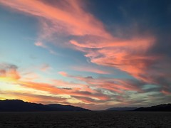 Death Valley sunset (PeterCH51) Tags: badwater sunset deathvalley california usa deathvalleynationalpark iphone peterch51 saltflats saltflatstrail badwatersaltflats badwaterbasin badwatersunset dvnp america