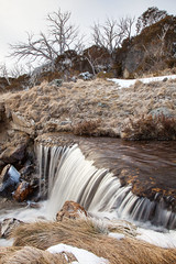 Winter Falls || SNOWY MOUNTAINS || NSW (rhyspope) Tags: australia aussie new south wales nsw perisher valley thredbo bluecow snow snowy mountains cold winter creek stream water waterfall flow long exposure rhys pope rhyspope canon 5d mkii