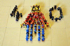 40th Anniversary of the Minifig Party (Oky - Space Ranger) Tags: lego collectable minifigures birthday anniversary party