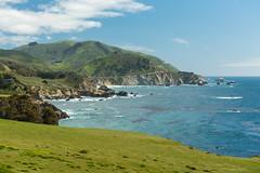 Pacific ocean scenic view (Slobodan Miskovic) Tags: highway1 california pacific ocean scenic roadtrip nikon nikkor 2470 nikon2470mmf28 cpl bw