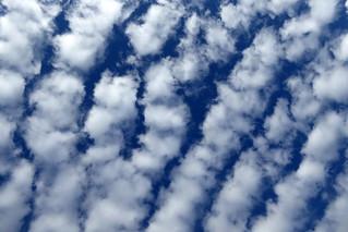 Interessantes Wolkenbild
