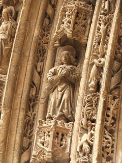 Iglesia de Santa María - Detalle de la portada 4