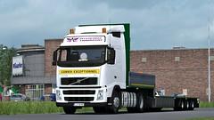 Volvo FH II Globetrotter | InterFarm Transport (Wawrzyn) Tags: volvo ets2 globetrotter truck trucks trailer convoi exceptionnel game games interfarm