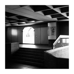 41153327914_c5aaf790a8_o (Melissen-Ghost) Tags: bw blackwhite black white schwarz weiss monochrome film simulation fujifilm x100f photography university architecture architektur bauhaus uni schatten licht fuji deutschland germany