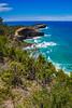 Perpendicular Point (Claude Downunder) Tags: perpendicularpoint laurieton dunbogan trail headland point pacific pacificocean ocean sea cliff vegetation hiking hikingtrail nsw australia midnorthcoast blue sky bluesky
