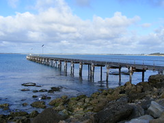 Jetty, Robe, South Australia (Diepflingerbahn) Tags: robe jetty southaustralia fujifinepixs5800 guichenbay