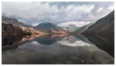 Lets reflect at Wastwater - Explore 28 04 2018 (urfnick) Tags: green landscape panorama wastwater wasdale scree mountain grass tree sky wood rock water lake field nature forest serene calm mirror reflections nationalpark cumbria canon eos 1300d tamron 18270mm outdoor thelakedistrict cloud dramatic still ripple spring fells stones landland nationaltrust countryside sundaylights