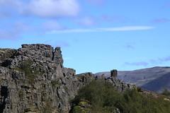 20170817-111545LC (Luc Coekaerts from Tessenderlo) Tags: iceland isl laugarvatn laugarvatni suðurland þingvellir thingvellir landscape rotswand cliff rock naturalsculpture splitdef171059thingvelli public nobody cc0 creativecommons 20170817111545lc coeluc vak201708iceland