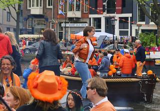Dancing Queen on King's Day