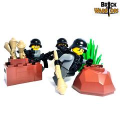 Custom LEGO Panzerfaust Revealed! (BrickWarriors - Ryan) Tags: brickwarriors lego gun panzerfaust panzer germany wwii ww2 customlegominifigure