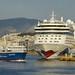 Einfahrt in den Hafen von Piraeus