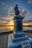 Sunrise at pwllheli war memorial. Pwllheli, Gwynedd, UK (gopper) Tags: memorial war pwllheli gwynedd uk wales welsh cymru fflickr flickr nikon d7200 10mm 1020mm ngc sunrise golden image respect thefallen clouds amazing iconic postcard llyn lleyn harbour prom promenade british wewillrememberthem wreath cross northwales monument ww1 ww2 conflict cloud military army navy airforce raf