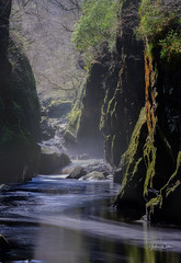 Fairy Glen (littlenorty) Tags: afoncolwyn betwsycoed europe fairyglen fujixt20 gear landscape nature river rocks snowdonia type unitedkingdom wales fuji55200 moss