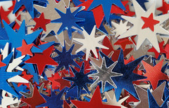 multiple stars (Thomas Rausch (!)) Tags: macromondays jagged confetti konfetti sterne stars gezackt metallica chaotic haufen macro makro sternhaufen galaxie galaxy