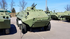 Armoured personnel carrier BTR-60PB (sirgunho) Tags: preserved minsk belarus loshany stalin line museum линия сталина armoured personnel carrier btr60pb soviet union army air force red forces world war two lenin communism nato tank gun vehicle car missile diggers enginering