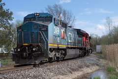 Headed to The Holly (Joseph Bishop) Tags: ic 2459 ge c408w durand michigan trains train track tracks railfan railroad railway rail rails cnflintsubdivision cnhollysubdivision t