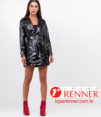 Vinyl jacket from Lojas Renner (Vinyl Beauties) Tags: vinyl pvc plastic jacket lojas renner fashion beauty style sexy glamour jaqueta vinil plástico moda estilo beleza mode lack plastik lackmantel lackjacke