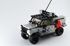 TEUV (᚜ Jake ᚛) Tags: lego military vehicle moc