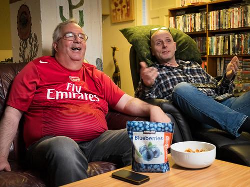 """Ægir og Jón Trausti gera sig klára í boltann • <a style=""""font-size:0.8em;"""" href=""""http://www.flickr.com/photos/22350928@N02/41282659664/"""" target=""""_blank"""">View on Flickr</a>"""