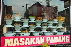 Padang Cuisine In Bali (Sound Quality) Tags: wwwmichaelwashingtonaecomhttpwwwflickrcomphotosmichaelwashingtonphotography bali indonesia baliindonesia beach asia travel viaje food cuisine padang masakan streetfood foodtruck indonesian sign canon canon50d
