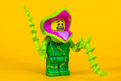 Plant Monster (cuurchk) Tags: lego legominifigure collectibleminifigures legocollectibleminifigures series14 legocms plantmonster plantmonsterminifigure plantmonsterminifig minifigure minifigures minifigs build create legophotography toyphotography minifigurephotography legoportrait halloween