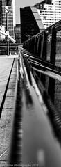 Railings (Wayne Stiller) Tags: black bridge london stratford white