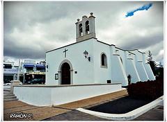 Ntra. Sra. del Carmen--Playa Blanca--Lanzarote (# RAMÓN Mortadelo #) Tags: mortadelo65pp martesdenubes felizmartesdenubes happytuesdayclouds ntrasradelcarmen islascanarias lanzarote playa blanca playablanca