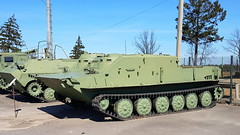 BTR-50PK (sirgunho) Tags: preserved minsk belarus loshany stalin line museum линия сталина btr50pk soviet union army air force red forces world war two lenin communism nato tank gun armoured vehicle car missile diggers enginering