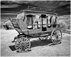 - The Stagecoach -  La Diligencia - (claudiov958) Tags: arizona biancoenero blackwhite blancoynegro černýabílý claudiovaldés czarnyibiały nikkor2470mmf28 nikond800e noiretblanc pretoebranco schwarzundweiss черноеибелое stagecoach ngc