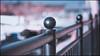 Marina Railing (G. Postlethwaite esq.) Tags: dof derbyshire findern merciamarina willington beyondbokeh bokeh depthoffield fence photoborder railing selectivefocus
